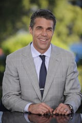 Chris Fowler, shown in 2012, will call two U.S. Open finals plus an NFL game Monday night for ESPN.