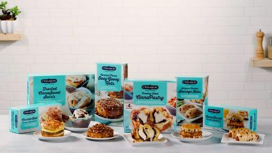 Cinnabon has a new line of frozen breakfast creations.