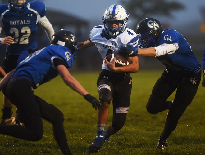 Jace Huntrods is back at quarterback for Collins-Maxwell in 2021. Huntrods and the rest of the Spartan football team is eying a winning record under first-year coach Greg Davis.