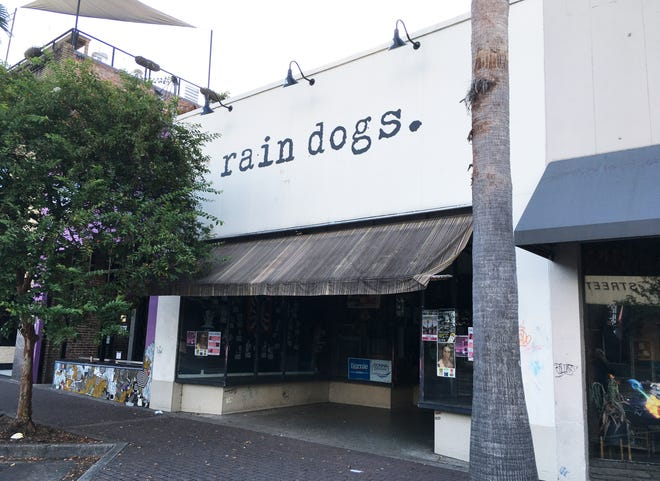 Rain Dogs, located in Five Points at 1045 Park St., is a popular bar, lounge, and cafe showcasing craft beers, live music, local art, and amateur comedy.