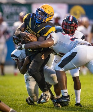 Auburndale's Tadarius Thomas will have his work cut out for him against a tough Lake Gibson defense on Friday night.