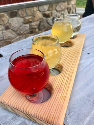 Burnt Mills Cider in Bedminster offers six to seven ciders on tap at any given time, which are made using Garden State ingredients.