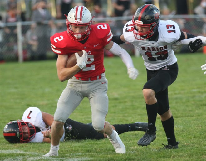 Shelby's Blaine Bowman hopes to help the Whippets get one step closer to clinching an MOAC title on Friday night at Galion.