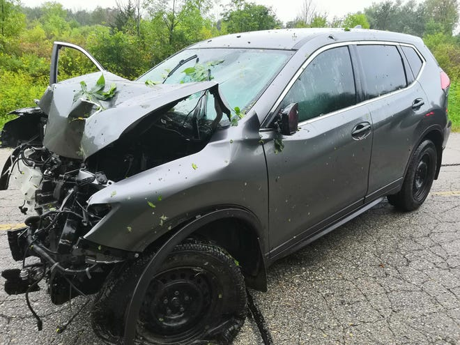 A 59-year-old Franksville man was killed in a car crash Saturday along the 1200 block of 60th Street in Raymond when the car left the road and struck a tree, according to the Racine County Sheriff's Office.