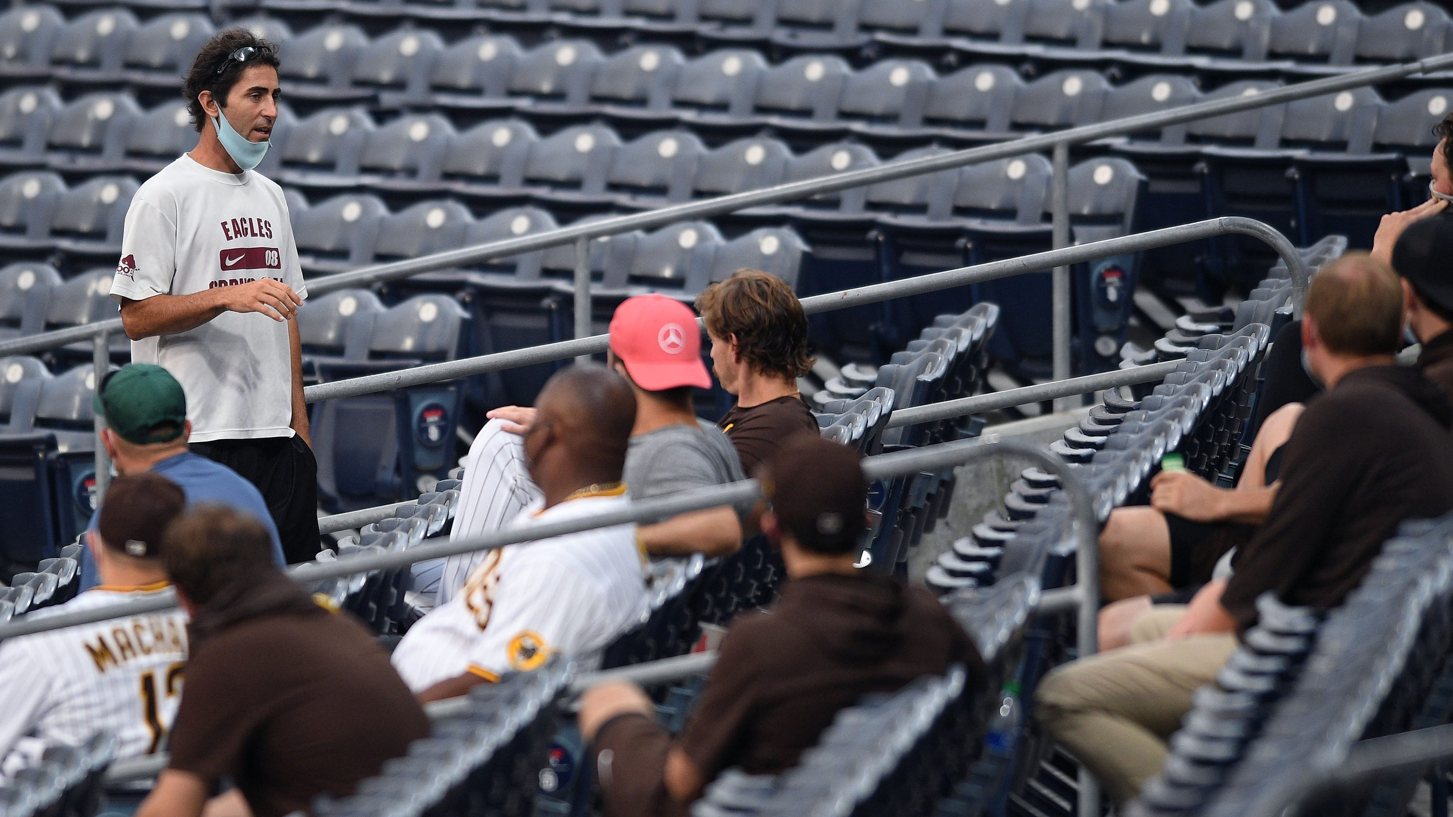 Opinion: MLB is jarred again as Giants-Padres games are postponed because of COVID-19