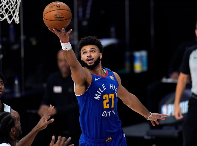 Jamal Murray scored 26 points for the Nuggets.