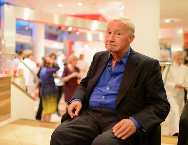 Sir Terence Conran, Designer and Founder of Habitat, Dies Aged 88 - LONDON, UNITED KINGDOM - SEPTEMBER 19: Sir Terence Conran attend a party to celebrate 25 years of The Conran Shop on September 19, 2012 in London, England.