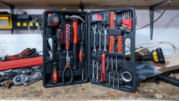 This toolkit is not only affordable, it has a ton of great basics, too.