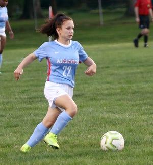 Rylee Horning of Alliance soccer.