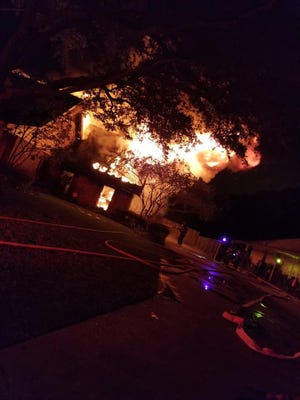 The Houma Fire Department responded around 3:53 a.m. to the 500 block of Amarillo Drive on the westside of Houma.