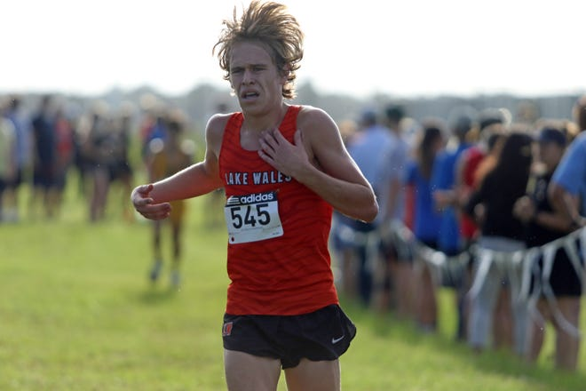 Lake Wales senior Mac Updike finishes third on Saturday at the Jim Ryun Invitational at Sun 'n' Fun.