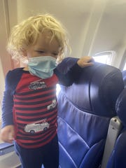 Jodi Degyansky and her son were escorted on a Southwest Airlines flight on RSW because the 2-year-old was not wearing his mask to eat some snacks, she said.