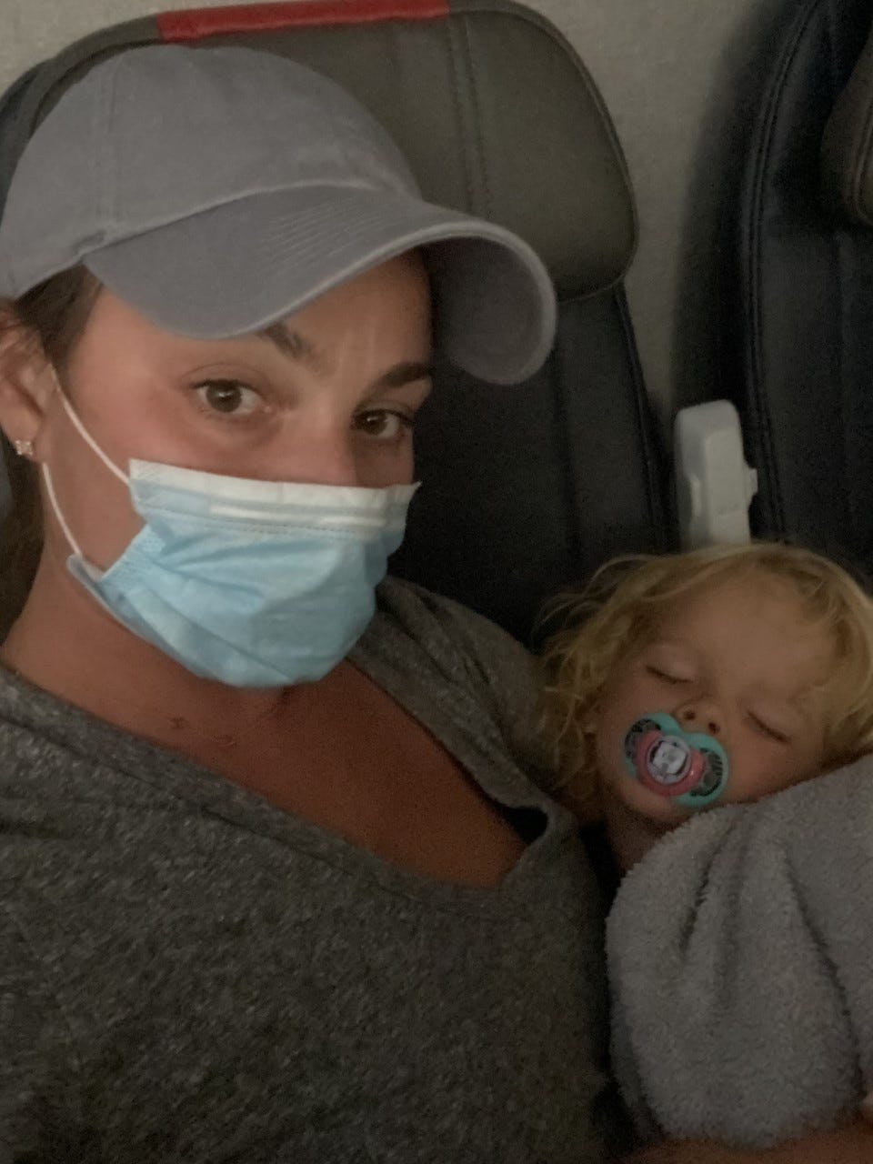 Holiday travel How to make sure kids keep face masks on while flying