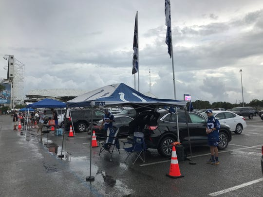 Colts fans are in Jacksonville to see their team's season opener.