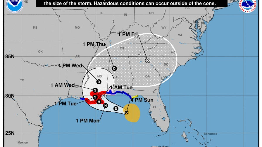 New Orleans braces for impact from Tropical Storm SallyHurricane Sally