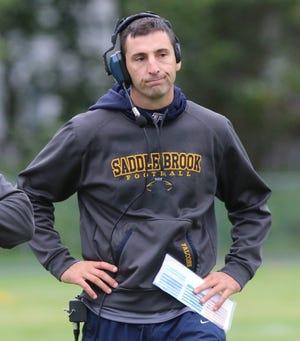 Leo Ciappina enters his 13th season as the Saddle Brook football coach.