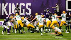 Packers kicker Mason Crosby questionable, RB Aaron Jones out for Vikings game