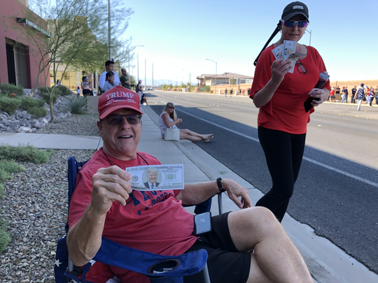 John Welsh, 63, of Henderson, Nevada, passed out