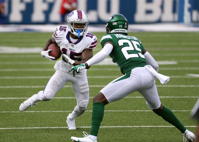 Buffalo Bills wide receiver John Brown is inactive for Sunday's game against the New York Jets.