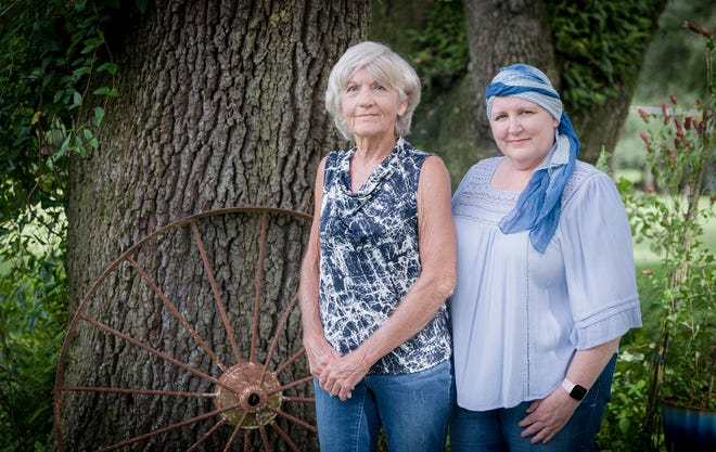 Rae Waddell has an especially unique bond with her mother, Thelma Whitfield. They are fighting cancer together