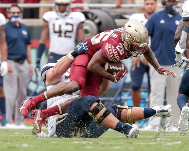 Asante Samuel's two interceptions provided bright spots in Mike Norvell's debut as head coach at FSU.