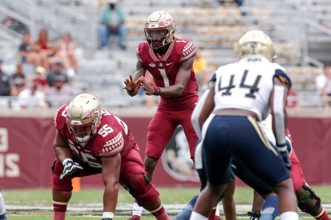 The FSU offense got the game rolling early on, but fell flat after a rain delay.