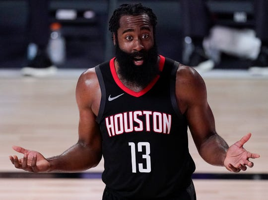 James Harden and the Rockets head into another uncertain offseason after losing in the second round.