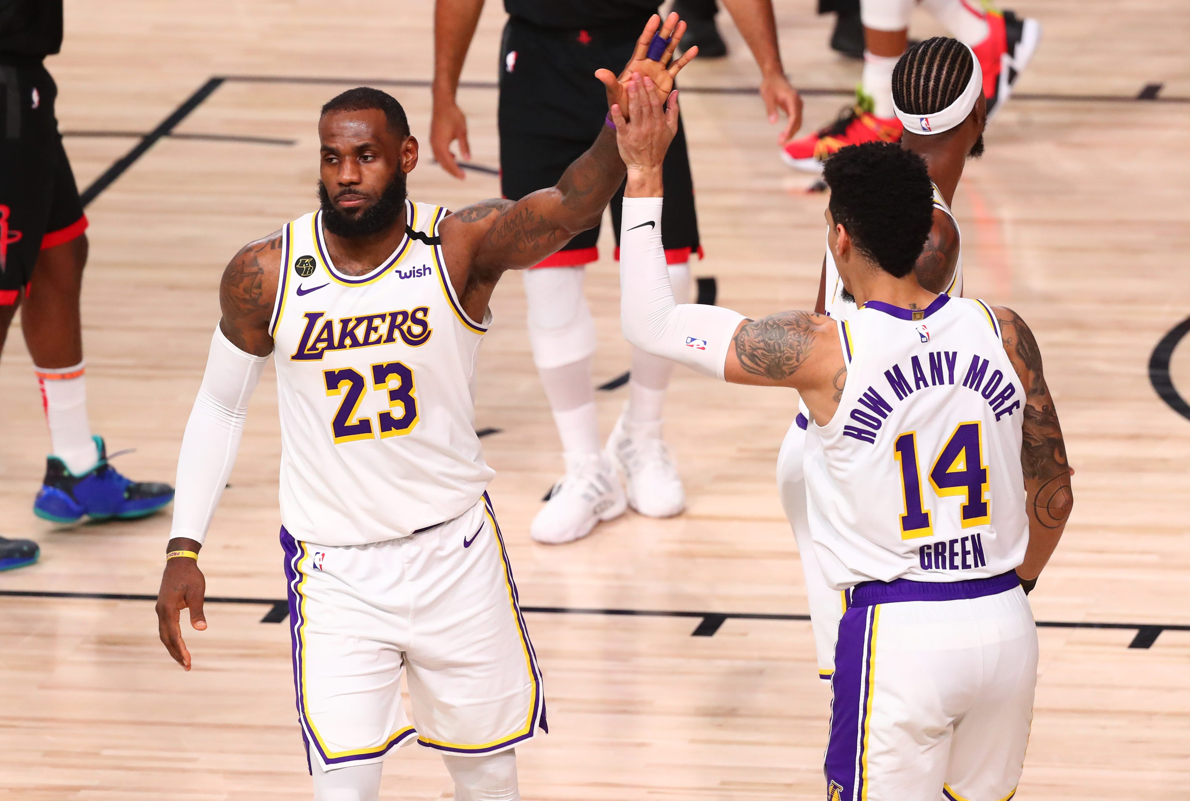 Lakers finish off Rockets with Game 5 rout to reach Western Conference finals