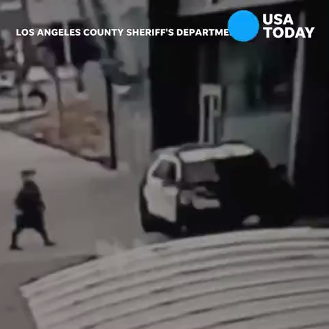 Los Angeles sheriff s deputies out of hospital,  long road to recovery  as search continues for gunman