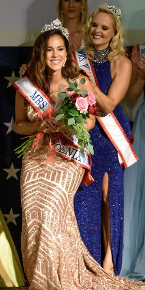 Morrisvile native Marilisa Beatty recently was crowned Mrs. Pennsylvania 2020.