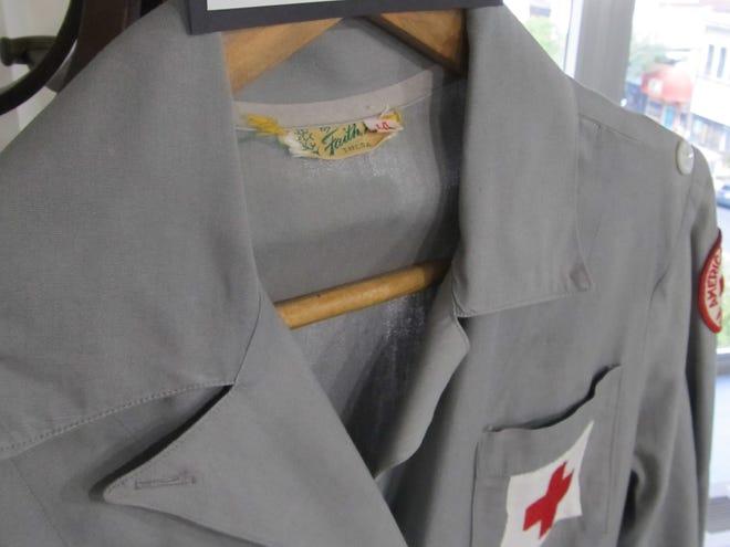 "Red Cross ""Grey Lady"" volunteer uniform"