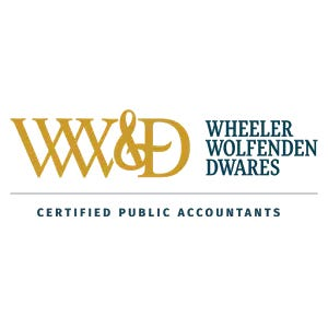 """Wheeler Wolfenden and Dwares, CPAs recently received top honors as one of 10 firms across the country designated """"Best of the Best Under $5 Million"""" as a result of INSIDE Public Accounting's Annual Survey and Analysis of Firms."""