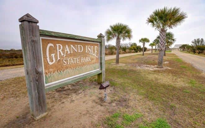 Grand Isle State Park, where a University of Texas survey showed large concentrations of plastic bits called nurdles washed up on the beach.
