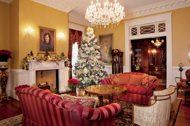 Linbrook Hall Christmas tours will take place Dec.1-23. All participants must make reservations as these are guided tours only.