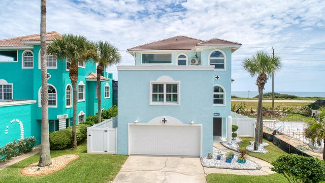 From its interior design and colors to the architectural design, this amazing Ormond Beach home was built to make the most of its location, just steps away from the Atlantic Ocean.