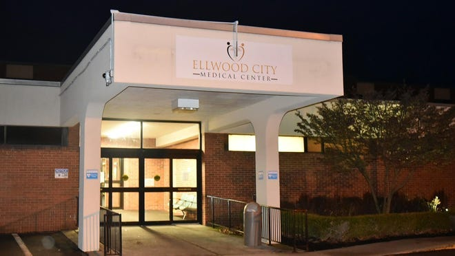 The medical records line to the closed Ellwood City Medical Center has been disconnected.