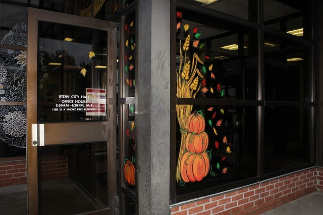 Stow is sponsoring a window painting program for its residents.