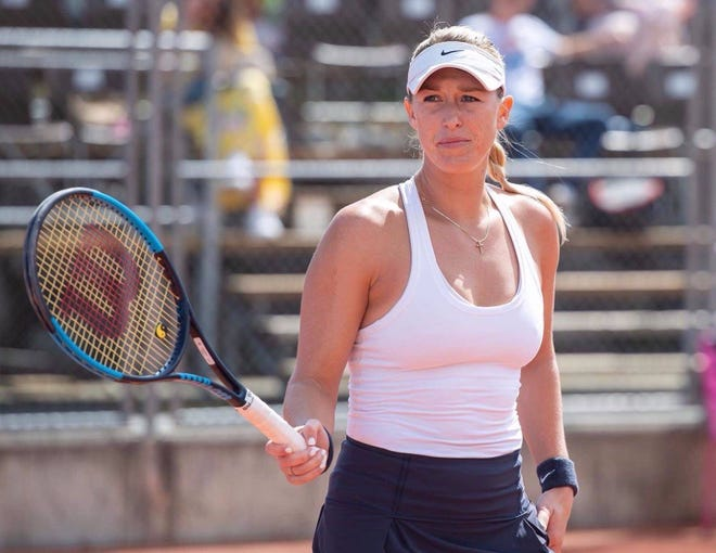 Alexa Guarachi is currently ranked 45th in doubles.