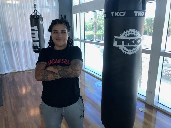 Melissa Hernandez is a six-time boxing world champion, but came out of retirement last year and is now the No. 1 contender in the WBC Welterweight belt.