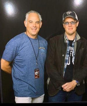 Longtime music manager Roy Weisman, left, of Boca Raton and two-time Grammy-nominated blues rock singer Joe Bonamassa have raised more than $250,000 to give back to musicians in need through their nonprofit Keeping The Blues Alive.