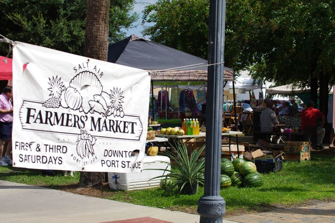 The Farmers Market is back Saturday
