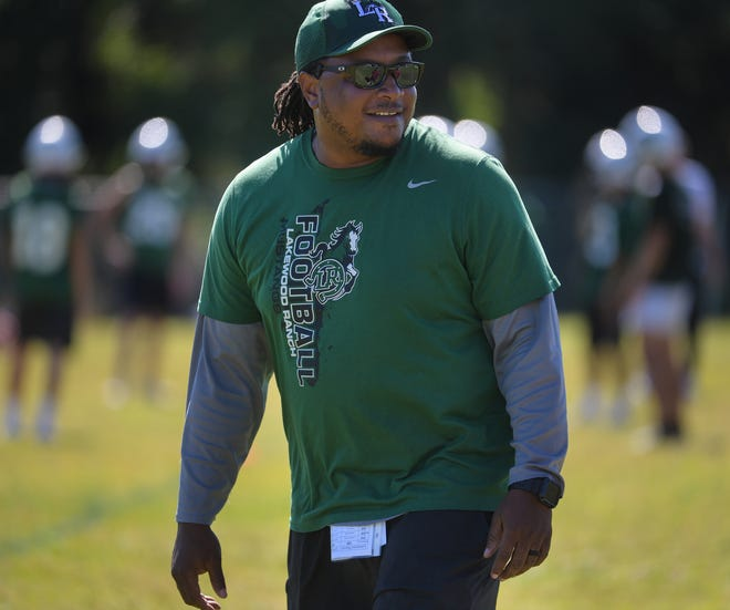 Coach Rashad West hopes the Lakewood Ranch High football team can build on last year's success.