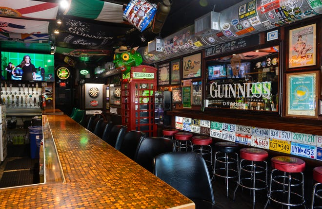 The Shamrock Pub, at 2257 Ringling Blvd. in Sarasota, reopened Monday, Sept. 14, the day  bars and other alcoholic beverage vendors were allowed to resume sales of alcoholic beverages for consumption on the premises.