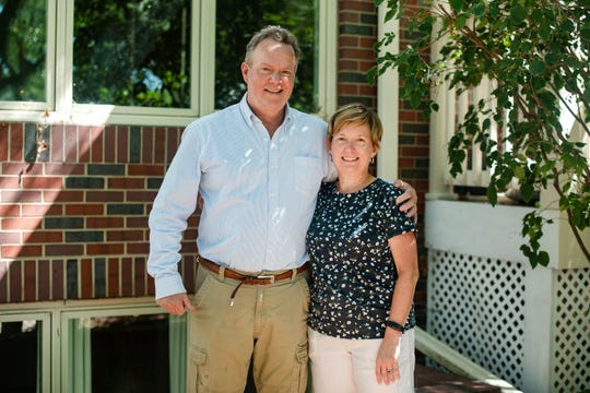 Mary and Tim Rolfes come from a big family. In 1955, their mother, Kitty, married a widower, Al Rolfes, who had two young sons. Nine months later, she and Al had another son, and their family grew until it included seven boys and one girl.