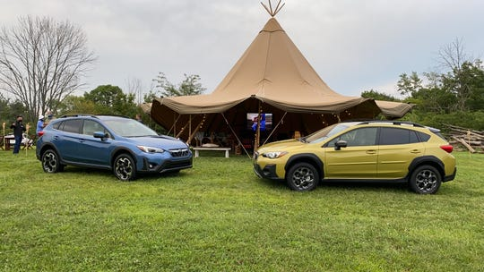 2021 Subaru Crosstrek Limited (left) and Sport