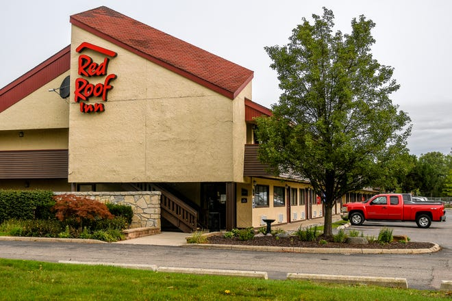 The Red Roof Inn photographed on Monday, Sept. 14, 2020, in Delta Township, where a Lansing man was killed Sunday night.