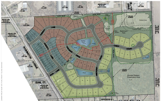 Fairway Village's 54 acres will consist of 113 units including townhomes, villas and estates.