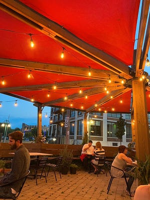 EsterEv will hold its multicourse dinners on the patio at Dandan, 360 E. Erie St., while the weather allows. Then they'll move inside.