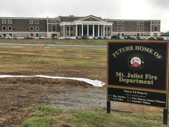 Mt. Juliet is moving forward on a new fire station for the city's north side near Green Hill High School.