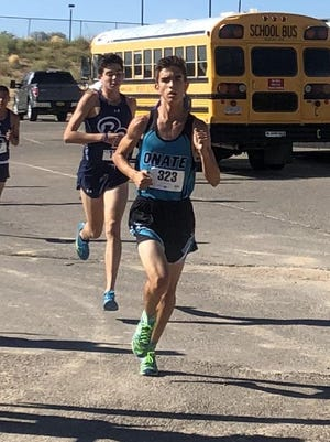 Oñate cross country runner Brett Bybee said runners will be able to adjust to competing wearing a mask when competition is slated to return in October.